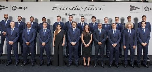 El Corte Inglés viste a los embajadores de La Liga con su marca Emidio Tucci
