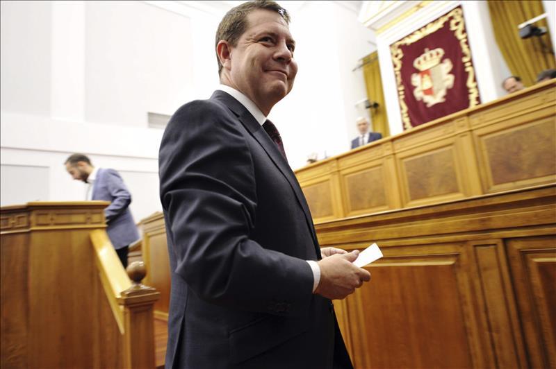 García-Page aplicará el programa del PSOE en Castilla-La Mancha