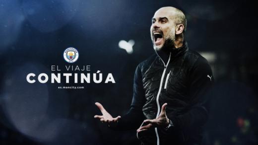 Guardiola pone fin a las especulaciones con su renovación por el Manchester City hasta 2023