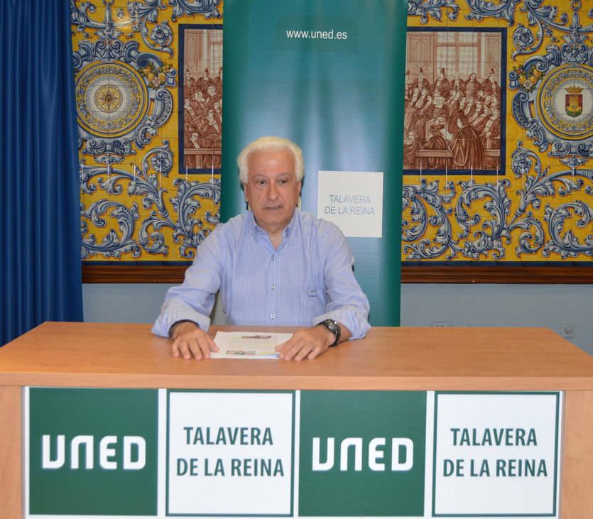 Enrique Martínez. Director de la UNED en Talavera de la Reina