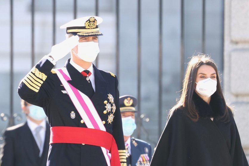 El Rey recuerda en la Pascua Militar el 'compromiso incondicional' con la Constitución