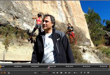 El alcalde de Cuenca se pone el chándal y participa en un vídeo andaluz que promociona la escalada