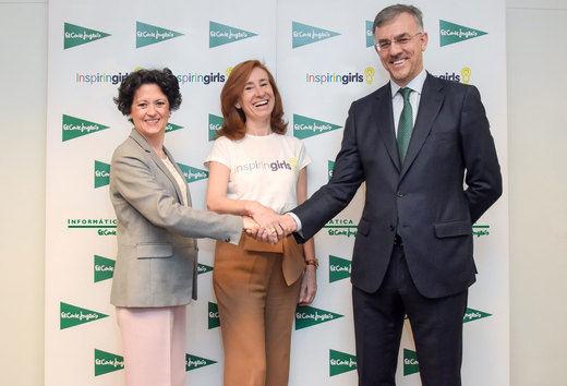 El Grupo El Corte Inglés colabora con Inspiring Girls para impulsar la formación de las mujeres del futuro