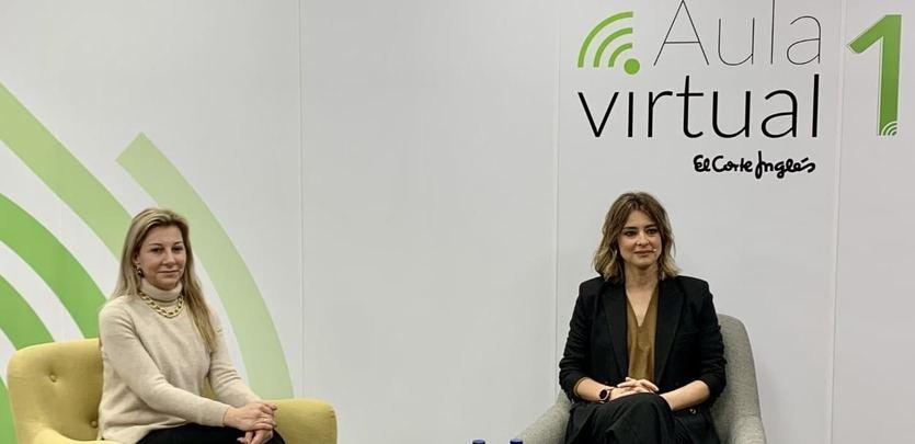 El Corte Inglés acerca el Planeta de Eva Sáenz de Urturi y Sandra Barneda a sus libreros en tertulia virtual