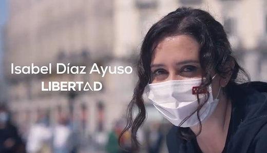 El vídeo de campaña de Ayuso corriendo del que todos hablan: 'Esfuerzo y libertad'