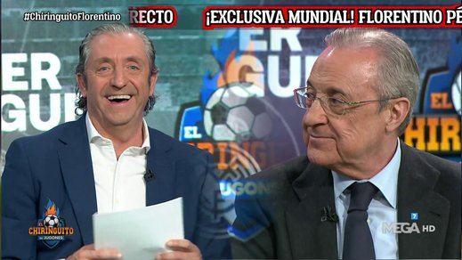 Florentino Pérez lo cuenta todo: Sergio Ramos, Cristiano Ronaldo, el lío de la Superliga...