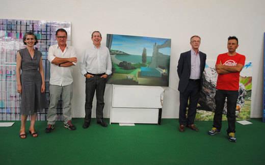 """La pintura """"Las estancias del capitán"""", medalla de Oro de la Exposición Internacional de Artes Plásticas de Valdepeñas"""
