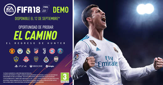 La demo de FIFA 18 ya está disponible para PS4, Xbox One y PC