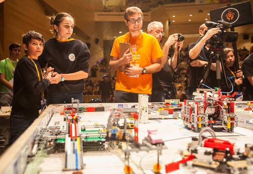 Fundación Aquae se suma al desafío First Lego League