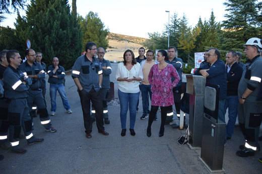 Los trabajadores de Elcogas mantendrán su encierro hasta que se anule el ERE