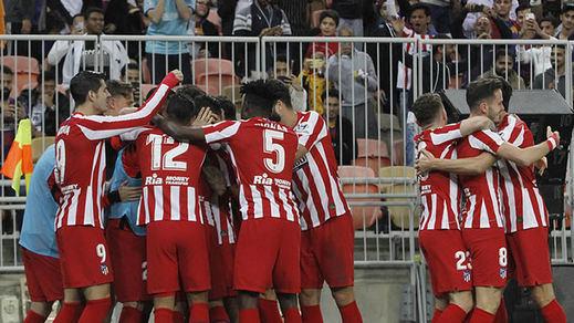 El Atleti se mete en la primera final de Supercopa sin campeón de Liga o Copa (2-3)
