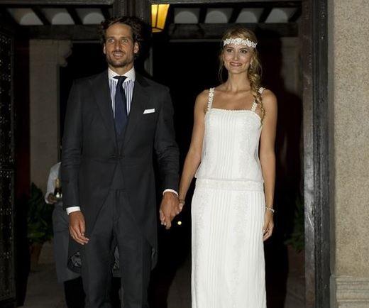 El tenista Feliciano López y la modelo Alba Carrillo se casan hoy en el Alcázar de Toledo