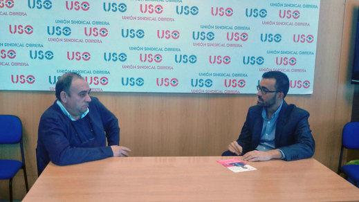 USO y UPyD coinciden en la importancia de la autofinanciación de los sindicatos