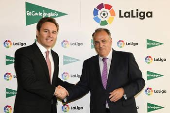 El Corte Inglés se convierte en patrocinador oficial de LaLiga