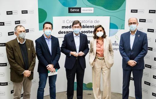 Bankia y las fundaciones de origen reconocen en un acto virtual los 49 proyectos de las convocatorias de Medioambiente y Desarrollo Sostenible