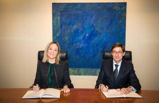 Bankia y el BEI unen fuerzas para incentivar la creación de empleo juvenil en España