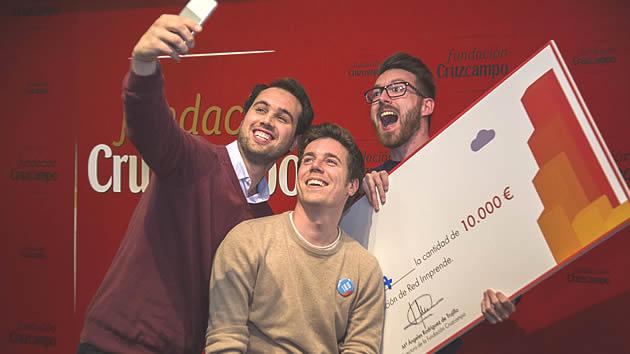 La startup granadina BuscoExtra gana el premio Red INNprende