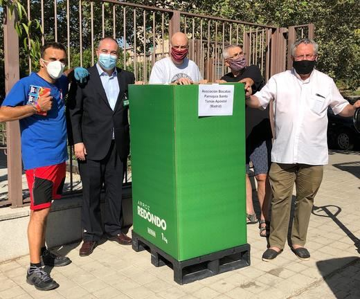 Mercadona dona a la Asociación Bocatas-Pasión por el Hombre 3,4 toneladas de alimentos de primera necesidad