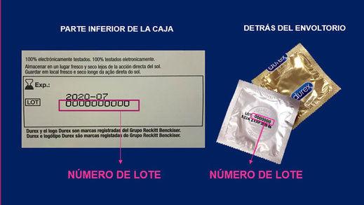 Durex retira en España varios lotes de preservativos por riesgo de rotura