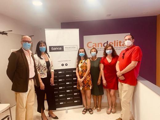 Bankia apoya el programa de Candelita que atiende a personas con situación mental grave