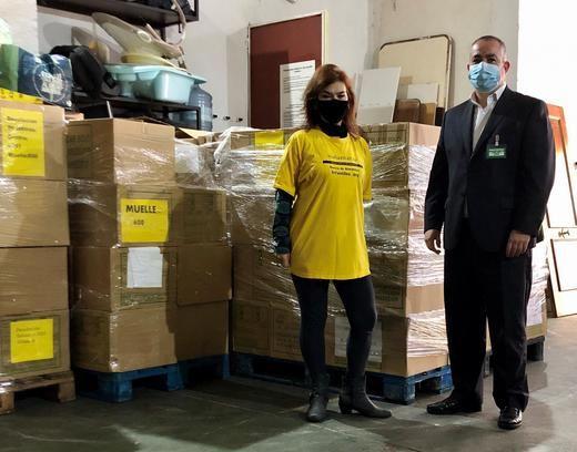 Mercadona dona al Banco de Alimentos Infantiles más de 16.800 biberones y tetinas
