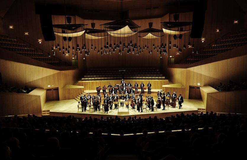 La Orquesta Sinfónica de Bankia ofrece el 'Concierto de Año Nuevo' en el Gran Teatro Bankia Príncipe Pío