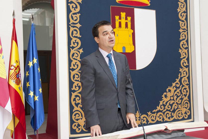 Francisco Martínez Arroyo ha tomado posesión hoy de su cargo