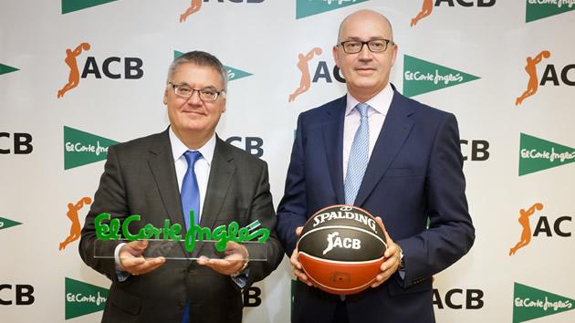 El Corte Inglés, Patrocinador Oficial de las competiciones ACB