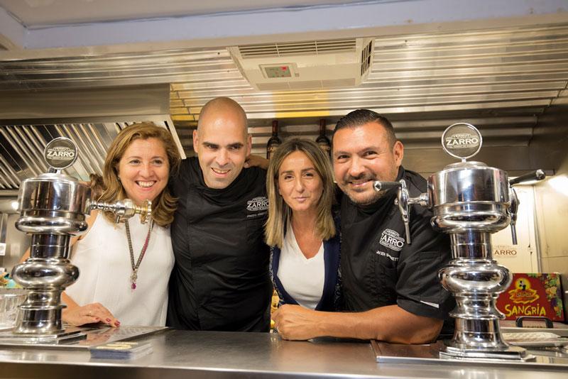 Milagros Tolón pide ayuda a los finalistas de 'Cocineros al Volante' para lograr que Toledo sea Capital de la Gastronomía