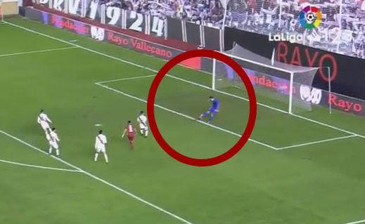 El gol 'de' Gazzaniga: gran error del portero del Rayo (vídeo)