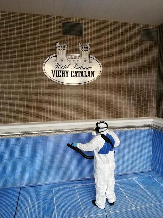 El Hotel Balneario Vichy Catalan, primer alojamiento turístico en España en conseguir la certificación 'Stop Covid-19'