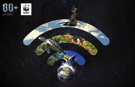 El Corte Inglés apaga las luces de sus principales fachadas para unirse a 'La Hora del Planeta'