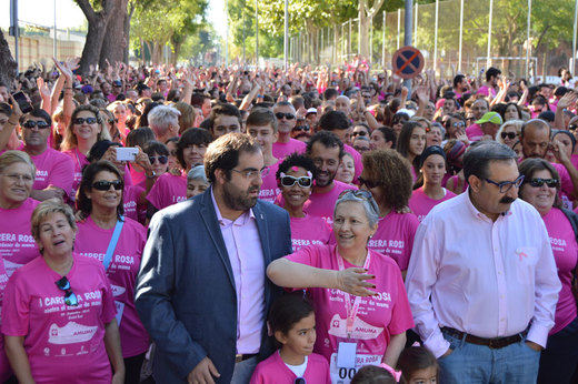 >>>Más de 2.000 personas en la I Carrera Rosa de Ciudad Real a beneficio de AMUMA