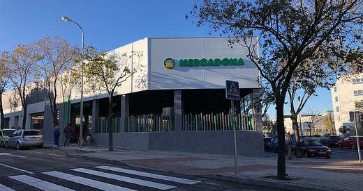 Mercadona abre un nuevo modelo de tienda eficiente en el distrito de Barajas (Madrid)