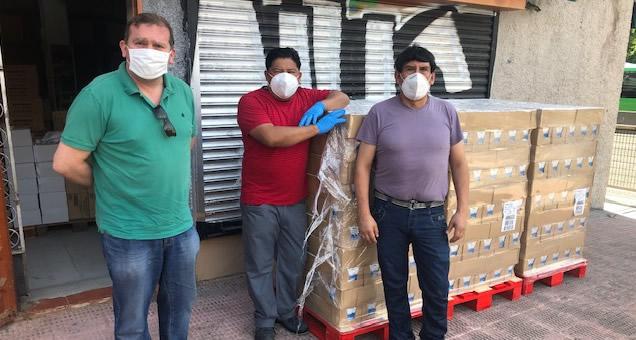 Mercadona dona al Comedor Social Santiago Masarnau 4.440 litros de leche