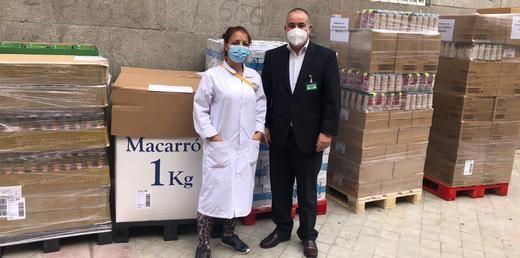 Mercadona dona a la Fundación Madrina 3,6 toneladas de pañales y alimentos de primera necesidad