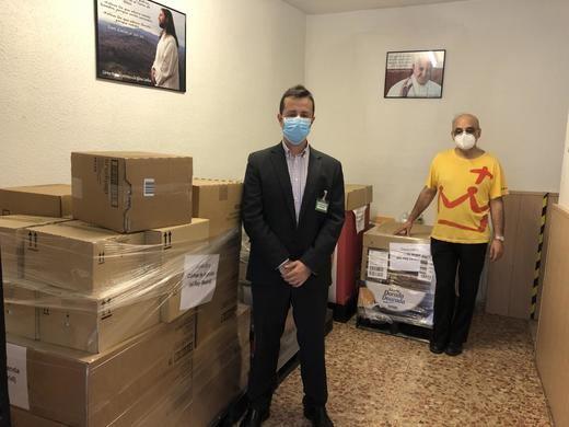 Mercadona dona a Cáritas de Arganda del Rey (Madrid) más de 1.500 KILOS de productos de primera necesidad
