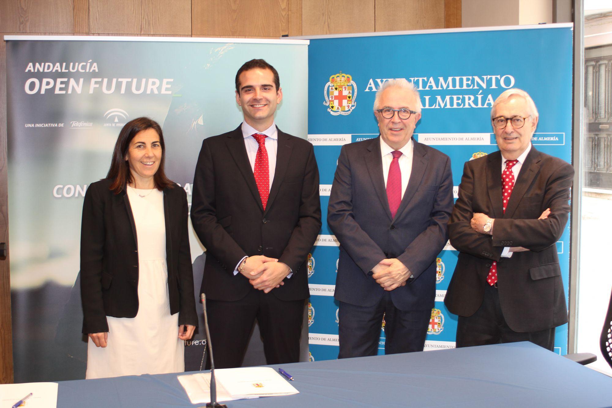 Almería se convierte en capital del empredimiento gracias al programa Andalucía Open Future