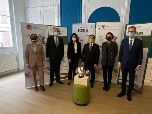 IFEMA recibe en París el Premio a la Solidaridad