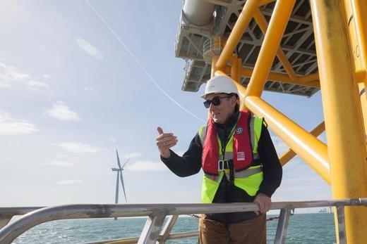 Iberdrola refuerza su apuesta por la eólica marina: entra en Irlanda con una cartera de 3 GW