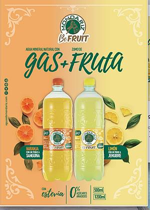 Aguas de Mondariz presenta Mondariz BeFruit, Hidratación saludable para calmar la sed