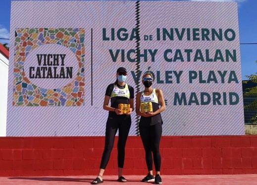 Vichy Catalan, patrocinador principal de la Liga de Invierno de Vóley Playa en Madrid