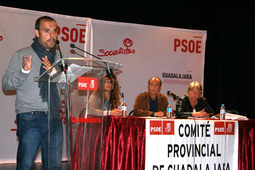Pablo Bellido encabezará la candidatura al Congreso del PSOE por Guadalajara