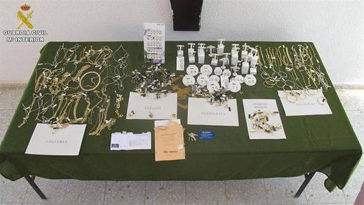 Detenidos tras robar 150.000 euros en joyas en Cuenca