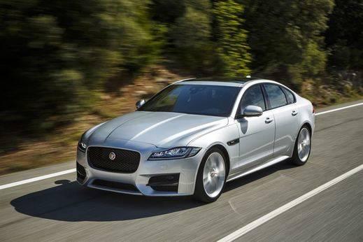 Jaguar lanza en España el nuevo XF, con mejor aerodinámica y menor peso