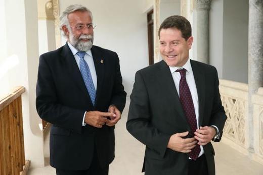 Page recibe a los alcaldes de Cuenca, Ciudad Real, Albacete y Talavera con el objetivo de