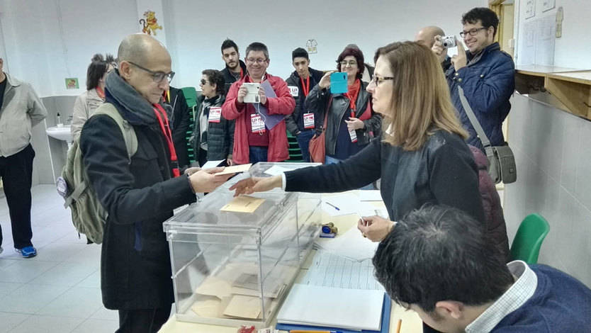 Javier Sánchez, candidato de Unidad Popular-IU en Albacete