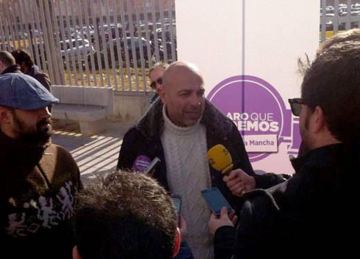 El líder de Podemos-CLM, contrario a cambiar el sistema de primarias en la formación morada