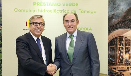 Iberdrola obtiene el mayor préstamo verde concedido por el ICO