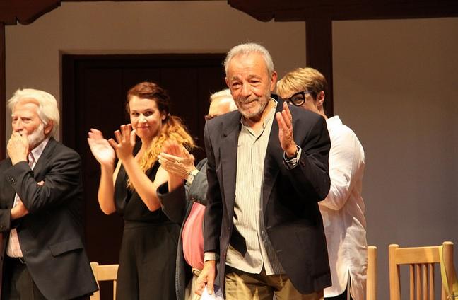 El actor y director José Luis Gómez recibe el Premio 'Corral de Comedias' en Almagro